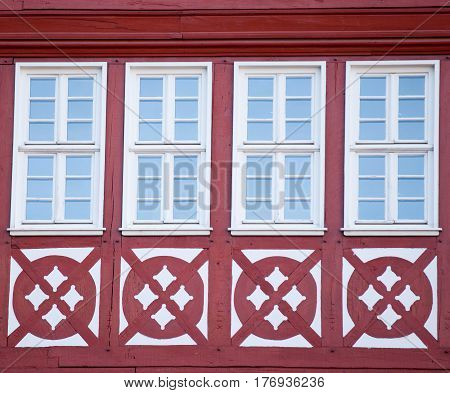 photo of beautiful cool windows on one of buildings with patterns