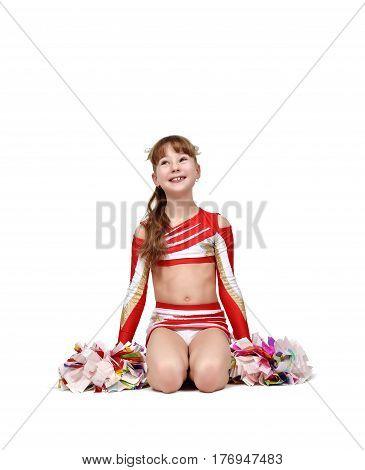 Young Cheerleader Girl