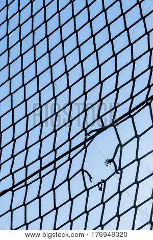 hole in a net