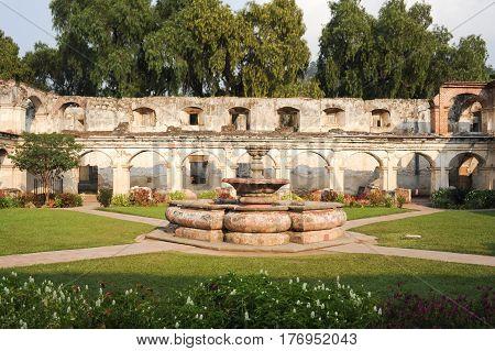 Ruins Of Santa Clara Convent At Antigua