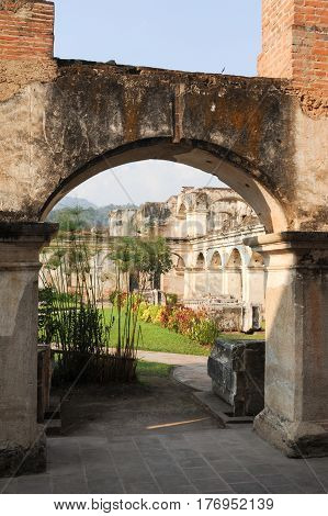 Ruins Of Santa Clara Convent At Antigua