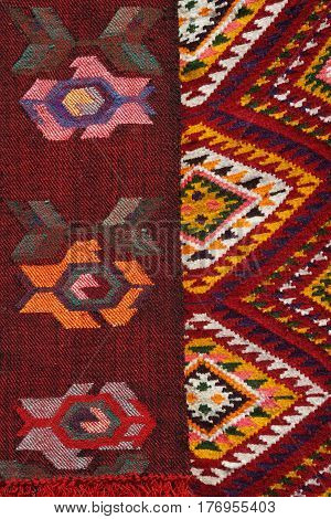Hand Made Rug. Traditional Woolen Hand Made Rug