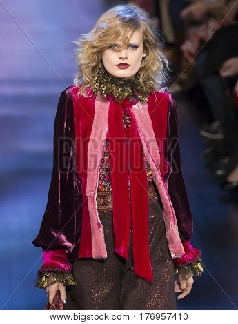 Anna Sui - Fall 2017 Collection