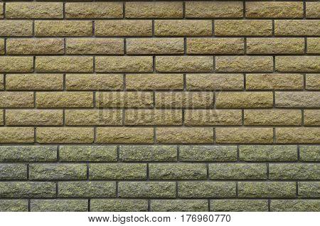Modern Weathered Colored Slate Brick Wall Texture