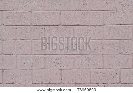 Weathered And Stained Colored Pink Block Wall Texture