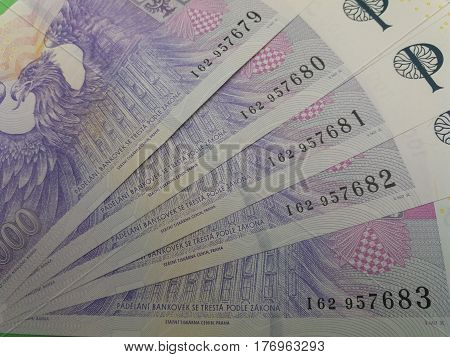 Czech Koruna Notes, Czech Republic