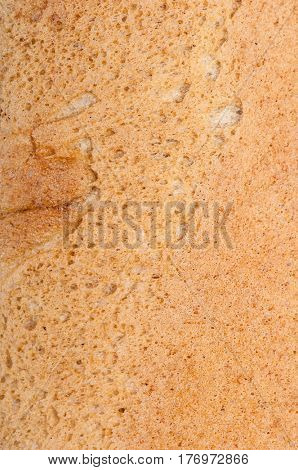 Close up texture of bakery