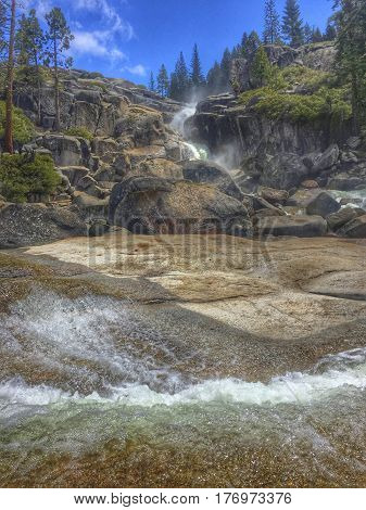 Bassi falls in the ElDorado national forest