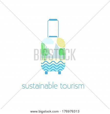 Sustainable Tourism Concept