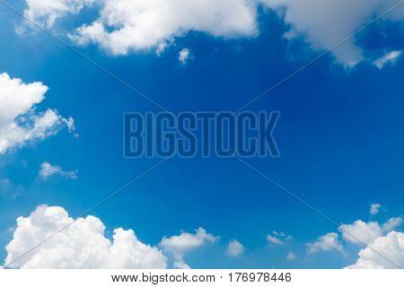 blue sky with clouds Sky clouds background blue sky with cloud closeup