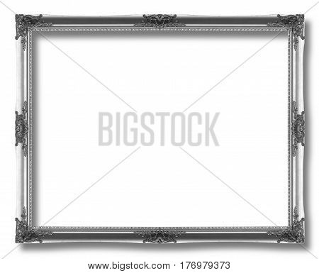 Black Frame Isolated On White Background
