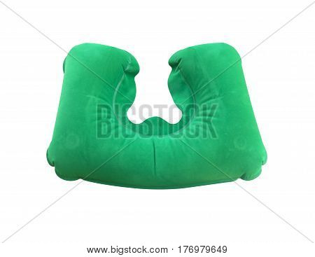 Traveling Green Sleeping Pillow Or Neck Pillow