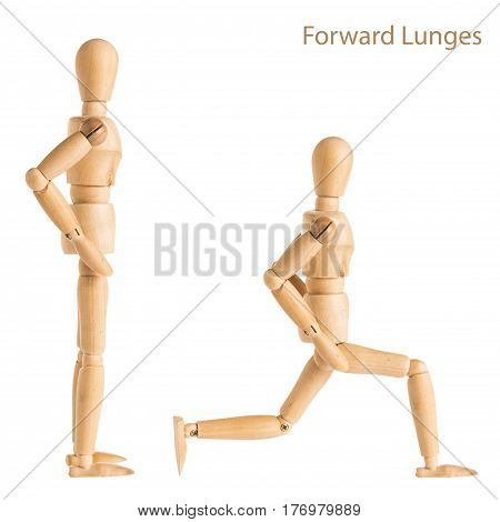 Forward Lunges Pose