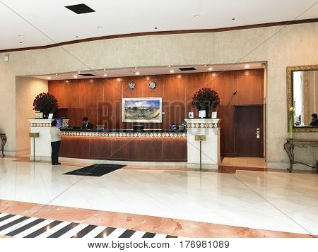 Jw Marriott Quito Lobby