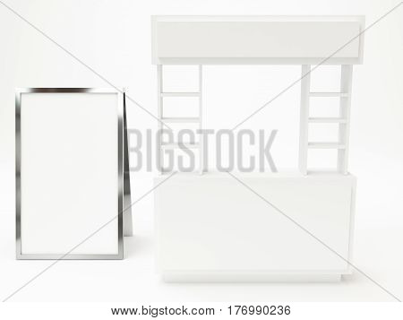 Booth Modern With Exhibition Stand