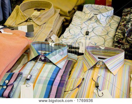 Mens Folded Shirts