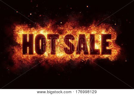 Fiery hot sale design template burn flame deal
