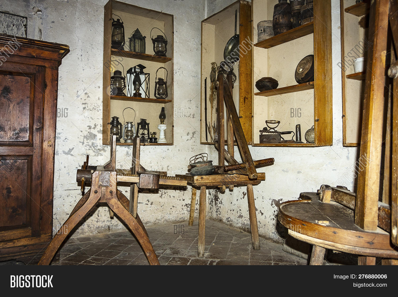 Vintage Kitchen Image Photo Free Trial Bigstock