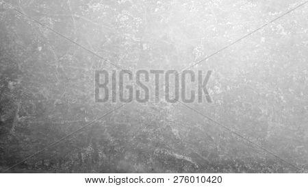 Empty Dark Scratched Ice Hockey Texture Background