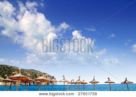 Camp de Mar sunroof  in Andratx from Mallorca balearic island Spain