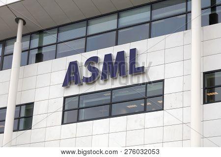 Asml Building In Veldhoven