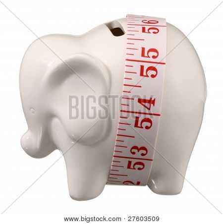 Elephant Coin Bank.