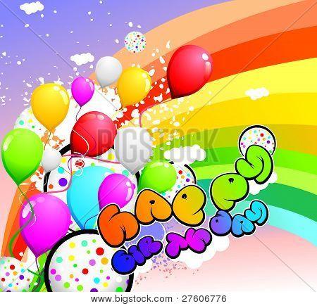 party color celebration vector