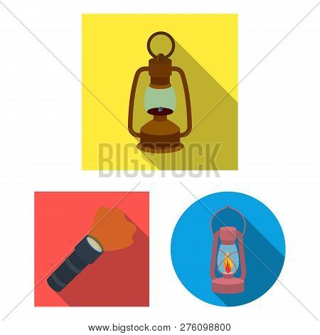 Isolated Object Of Moon And Holiday Sign. Set Of Moon And Ramadan Stock Symbol For Web.