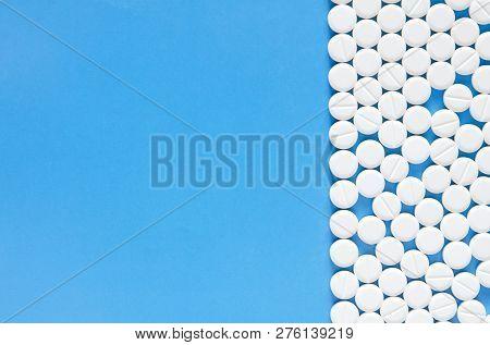 Drug Prescription For Treatment Medication. Antibiotic Drugs. Concept Of Health, Treatment, Choice,