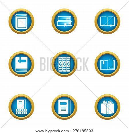 Speculative Icons Set. Flat Set Of 9 Speculative Icons For Web Isolated On White Background