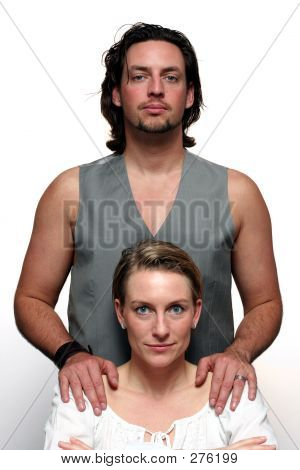 Formal Couple Portrait