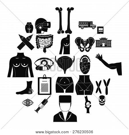 Dissection Icons Set. Simple Set Of 25 Dissection Icons For Web Isolated On White Background