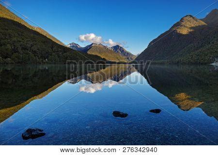 Lake Gunn, Fiordland, New Zealand