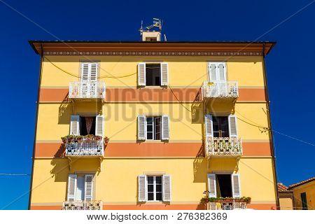 Building In Rio Nell'elba, Tuscany, Italy