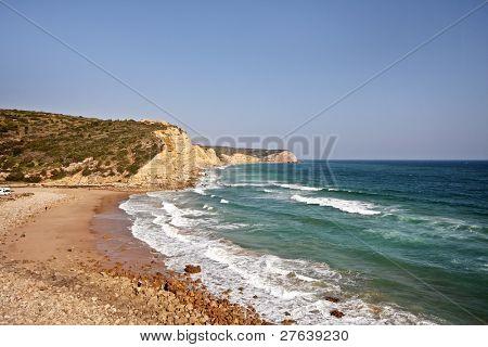 Beach from Boca de Rio in Portugal