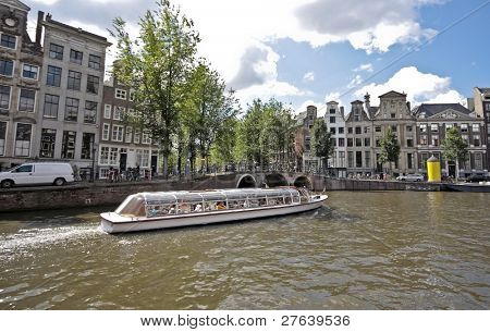 View at  Amsterdam in the Netherlands