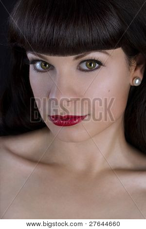 Beautiful Pin-up Girl.