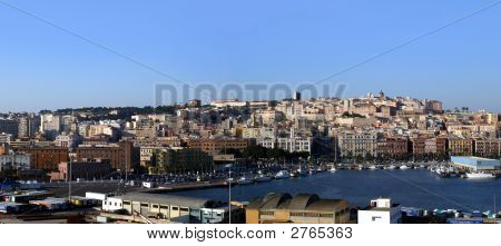 Cagliari Sardinia Panorama