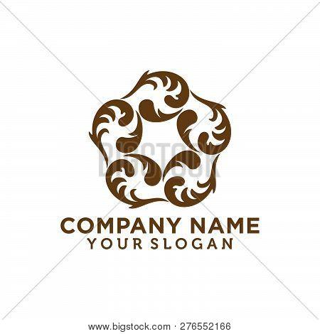 Luxury Logo. Decoration Logo. Interior Icon. Boutique Logo. Fashion Logo. Jewelry Logo. Hotel Logo.