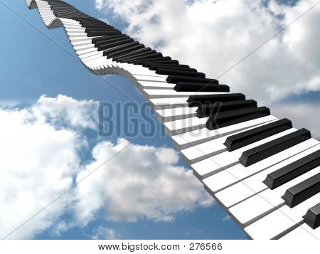 Wavy Keyboard