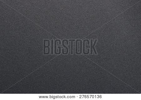 Texture Of  Hard Steel, Black Paint Metal, Abstract Background.