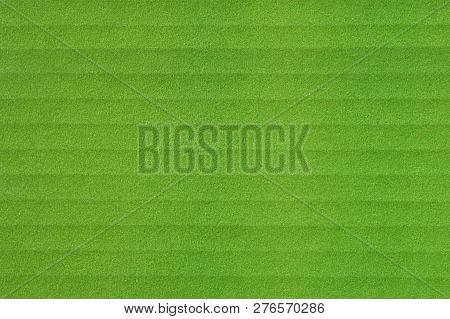 Texture Of Green Paper Box, Horizontal Stripes, Abstract Background