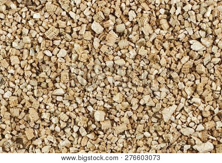 Top View Of Vermiculite - Materials For Growing Plant