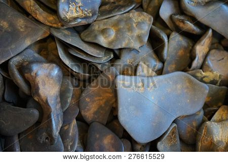 Limonite Mineral Texture As Nice Natural Background