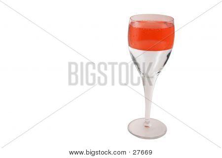 Optimism Concept (II) Champagne