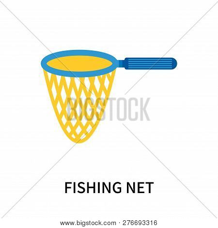 Fishing Net Icon Isolated On White Background. Fishing Net Icon Simple Sign. Fishing Net Icon Trendy