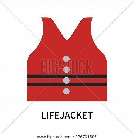 Lifejacket Icon Isolated On White Background. Lifejacket Icon Simple Sign. Lifejacket Icon Trendy An