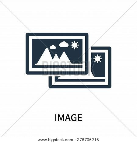 Image Icon Isolated On White Background. Image Icon Simple Sign. Image Icon Trendy And Modern Symbol