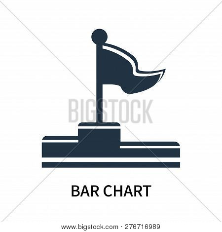 Bar Chart Icon Isolated On White Background. Bar Chart Icon Simple Sign. Bar Chart Icon Trendy And M
