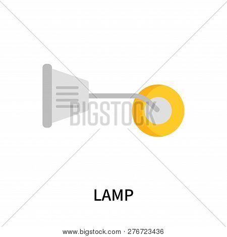 Lamp Icon Isolated On White Background. Lamp Icon Simple Sign. Lamp Icon Trendy And Modern Symbol Fo